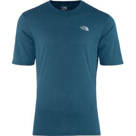 The North Face Flex II Camisa Manga Corta Hombre, blue wing teal